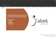 Tablet Preview of habek-homecare.at